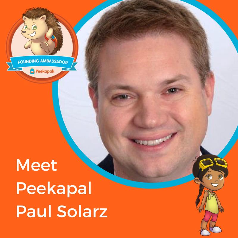 Meet the Peekapals: Paul Solarz