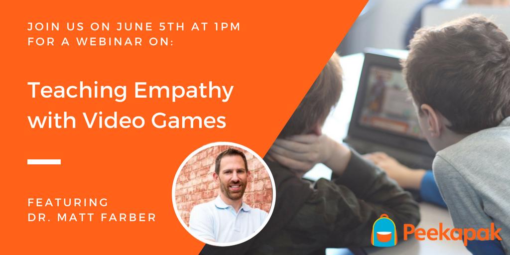 Teaching Empathy with Video Games: Webinar Recap