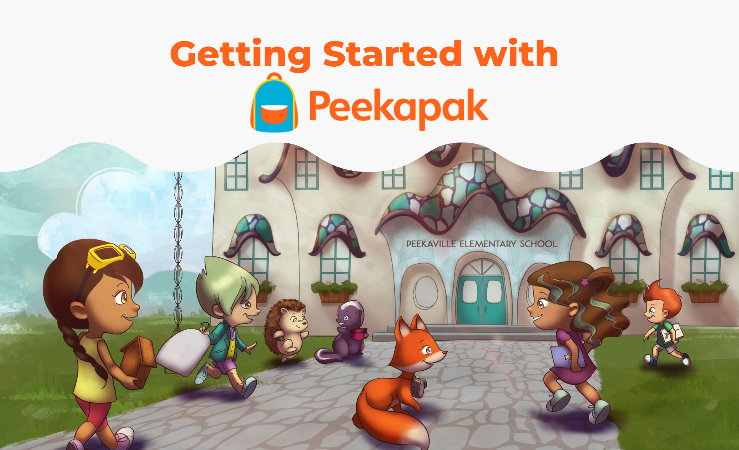 Getting Started with Peekapak