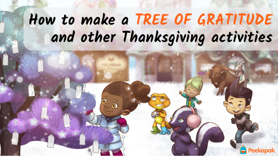 How to make a tree of gratitude and other Thanksgiving activities
