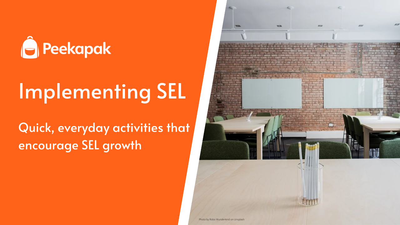 Incorporating SEL into Everyday Activities