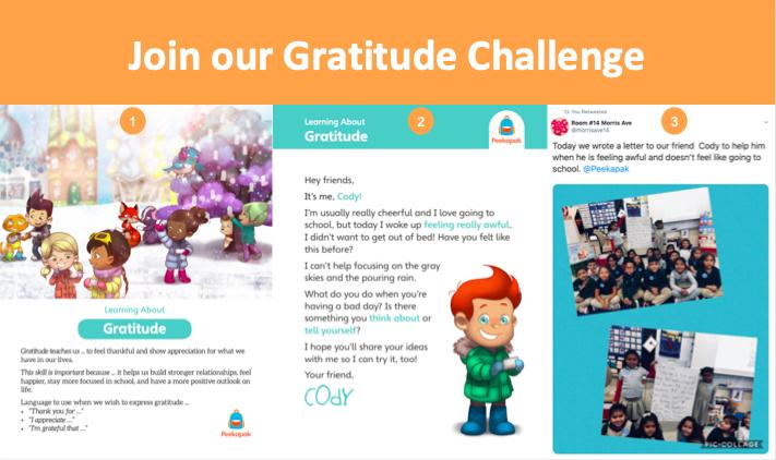 Gratitude Challenge