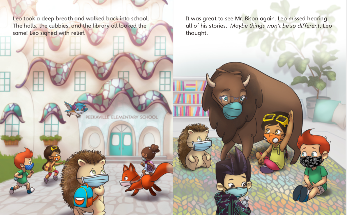 Peekapak Provides Ready-to-Teach Lessons as Students Return to Learning