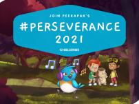 Join Peekapak's #Perseverance2021 Challenge